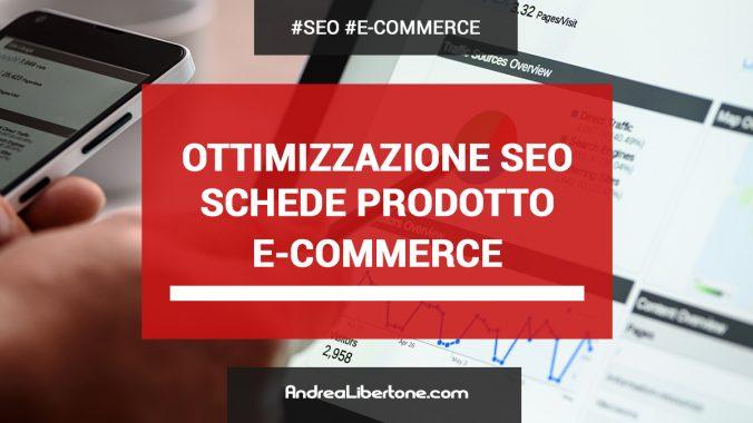 Ottimizzare pagine prodotti ecommerce SEO