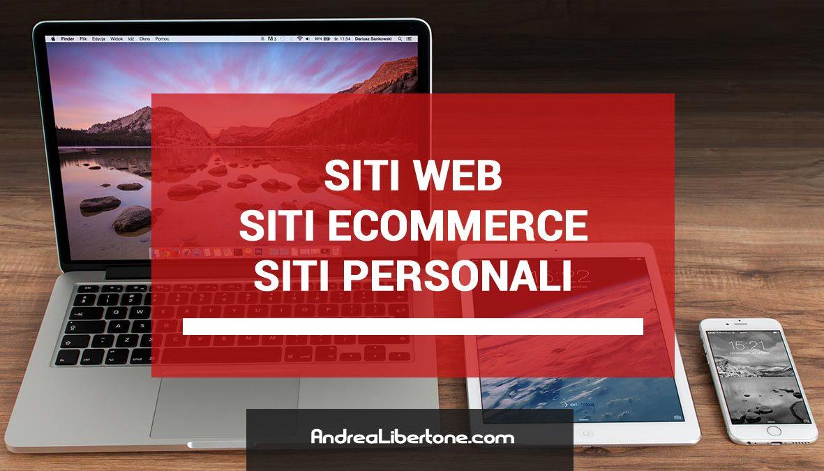 Realizzazione Siti Web eCommerce Responsive